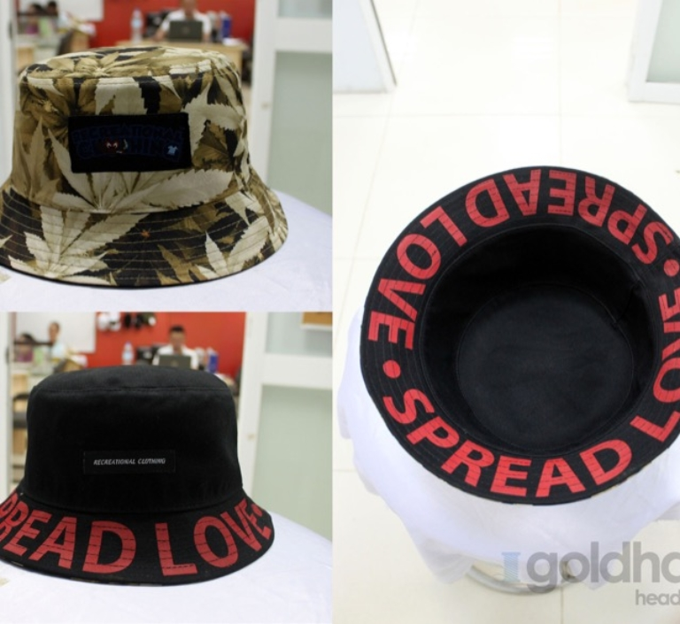 Recreational clothing bucket hat