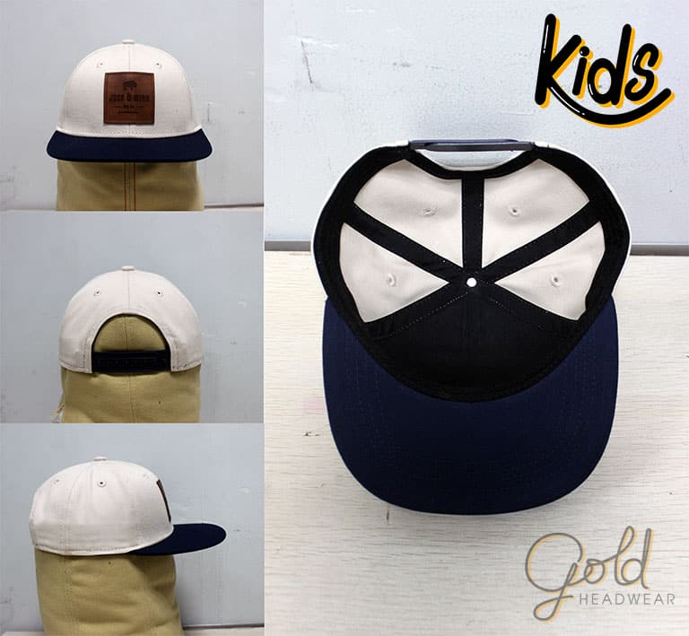 13ea9d61 Custom Kid Caps & Snapbacks Headwear Manufacturer | Gold Headwear