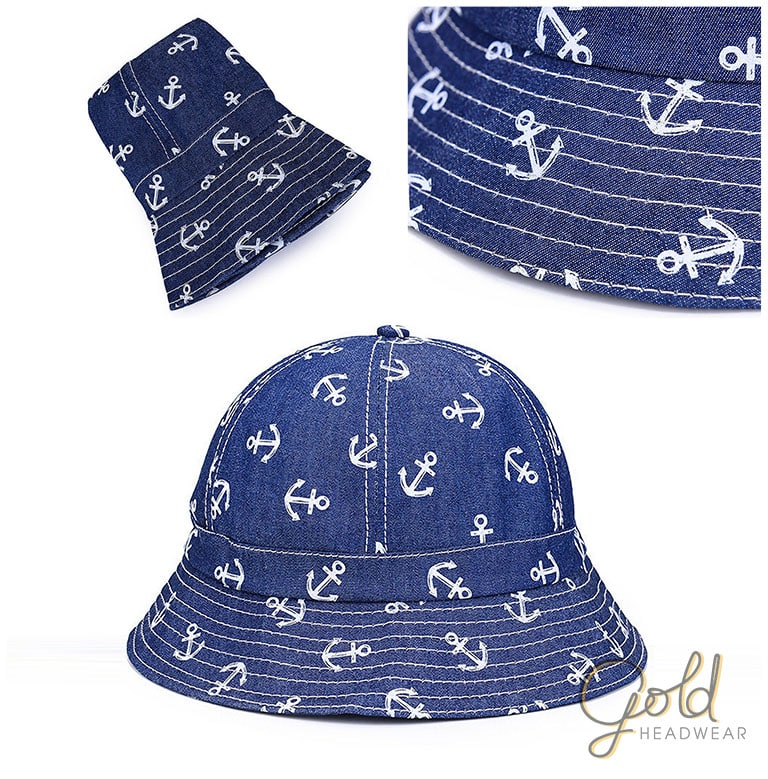 Custom Round Bucket Hats ee0cd9232a0d