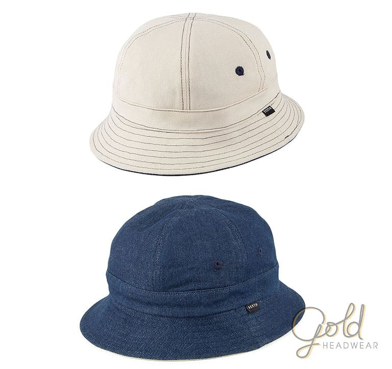 Round Bucket Hats Reversible 0111c545f1c2