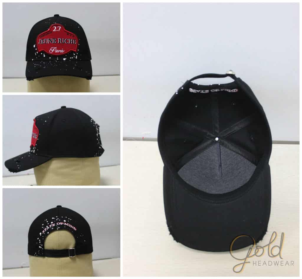441ce7f865e Custom 5 Panel Baseball Cap