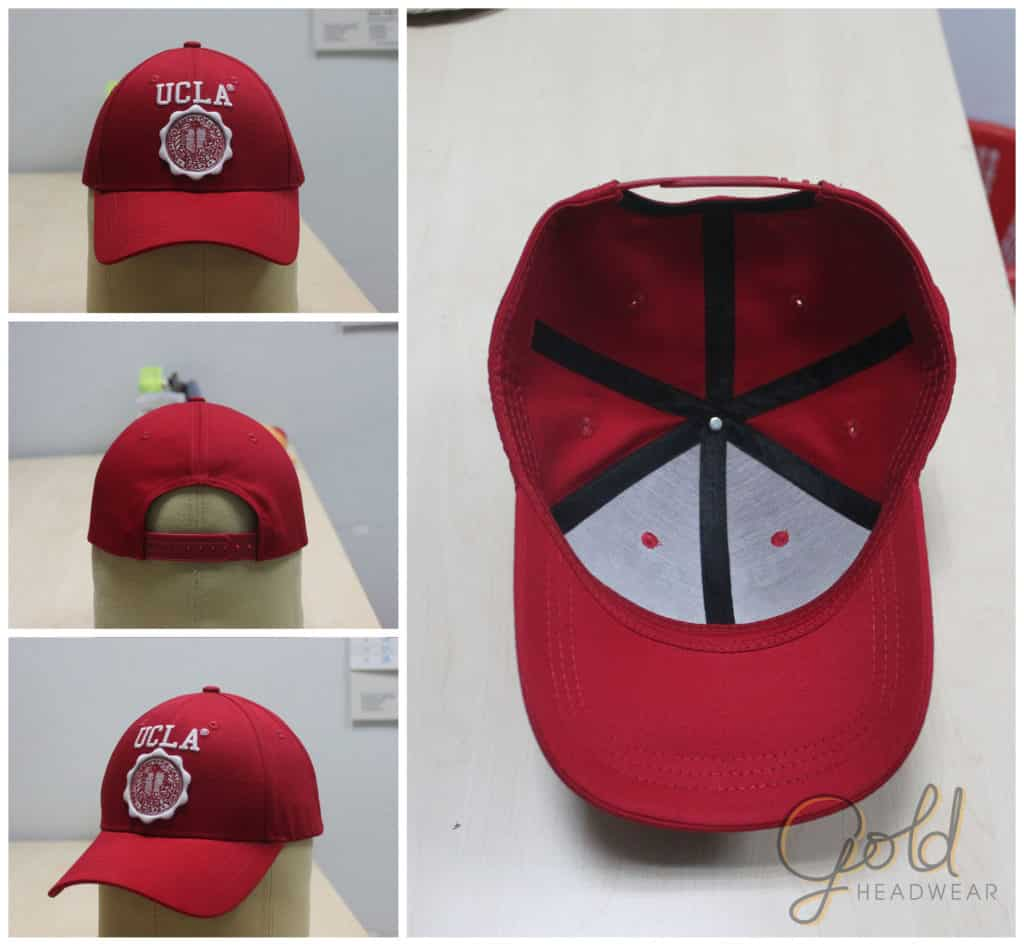 Custom made baseball 6 panels