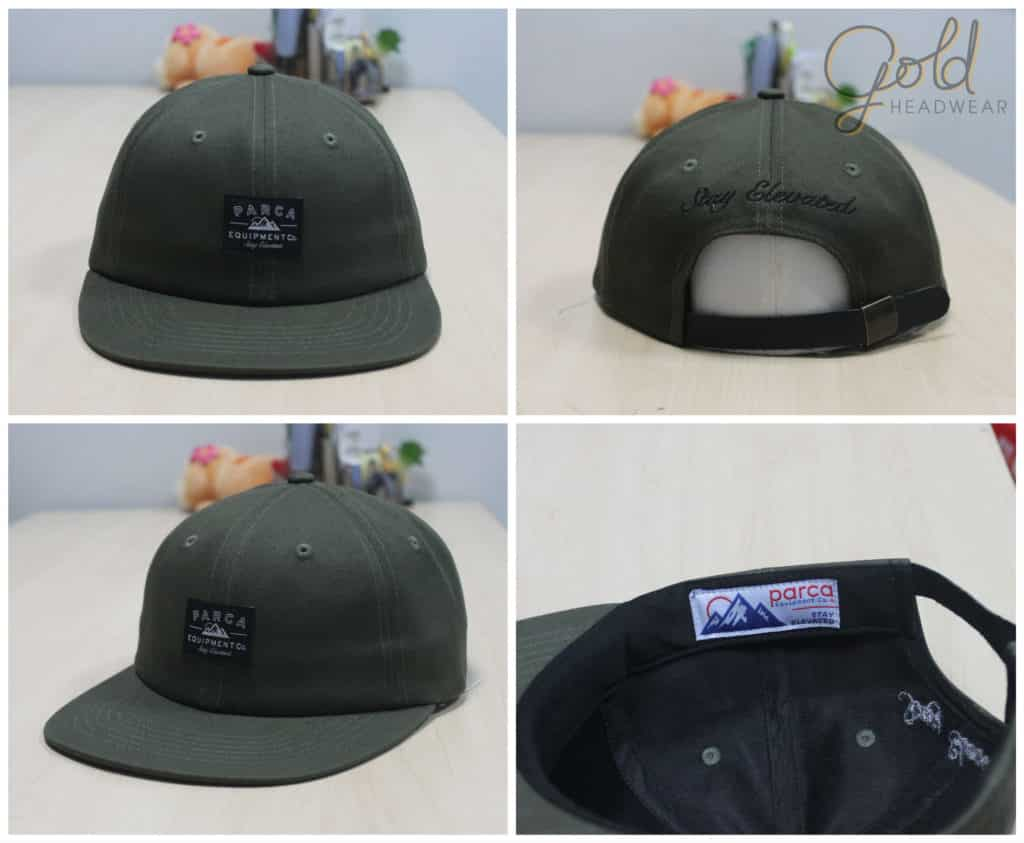 22c476e4b9f The 6 panel unstructured caps offer a more of a relaxed fit than 5 panel or  snapbacks
