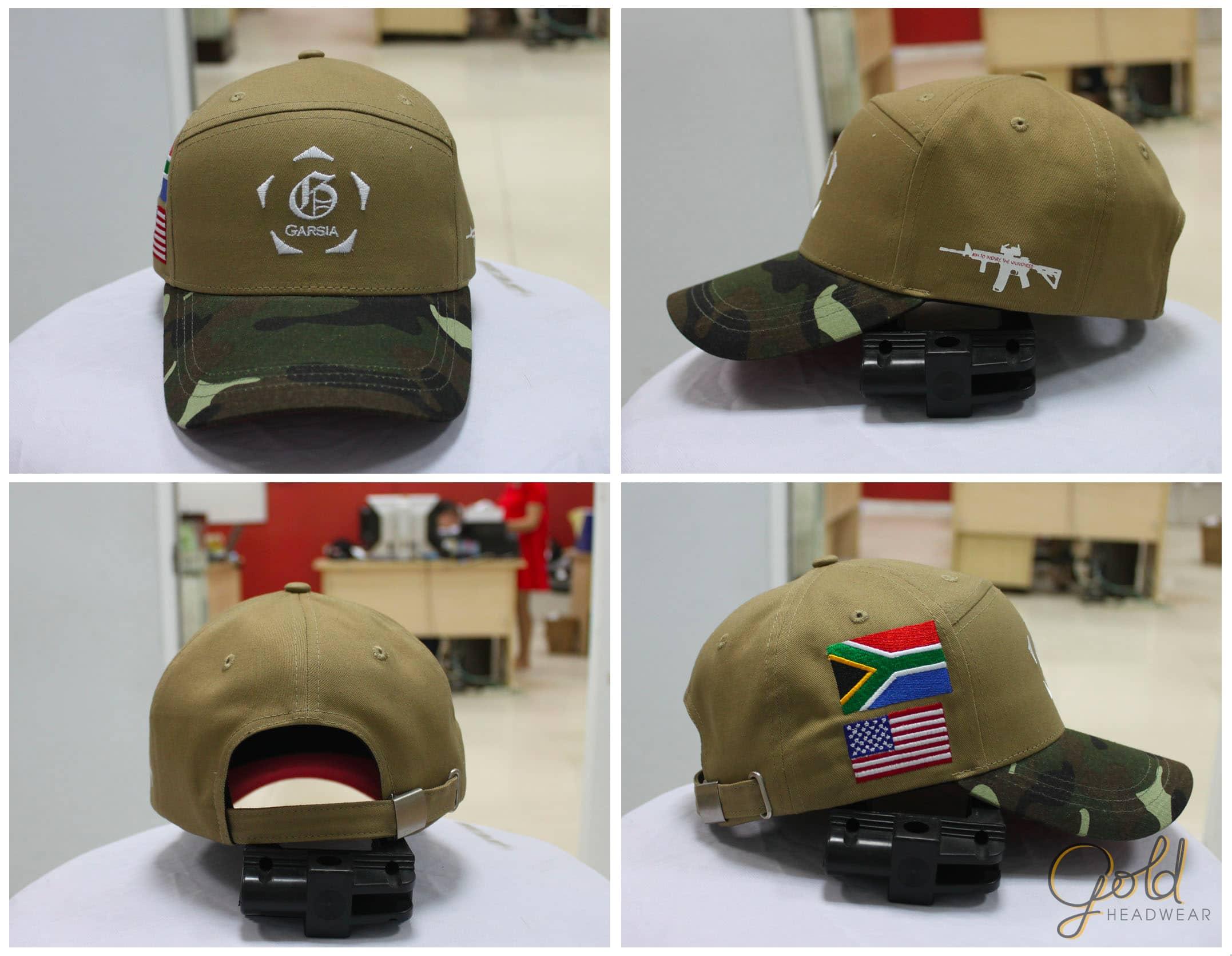 Custom hybrid baseball cap