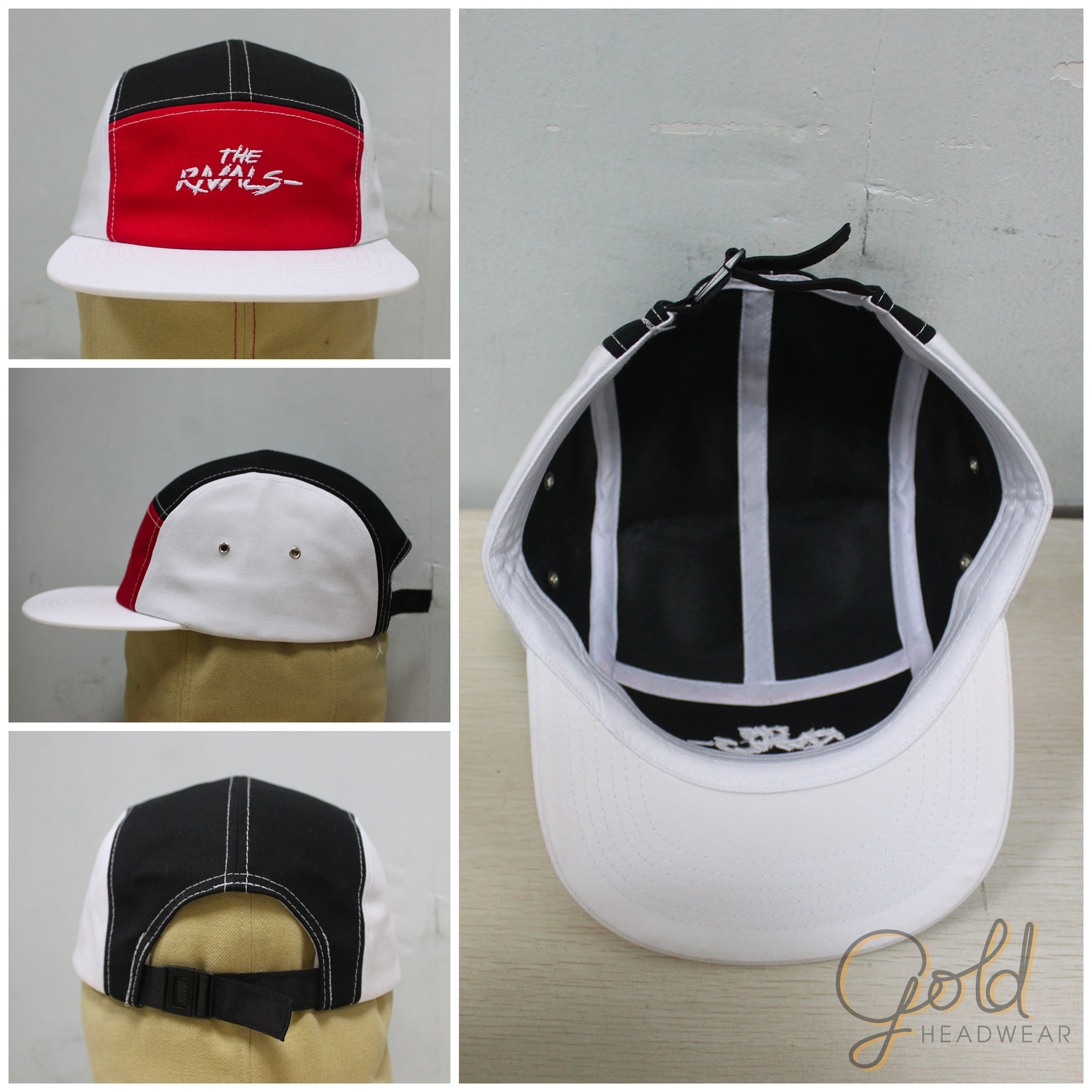 Custom made 5 panel camps