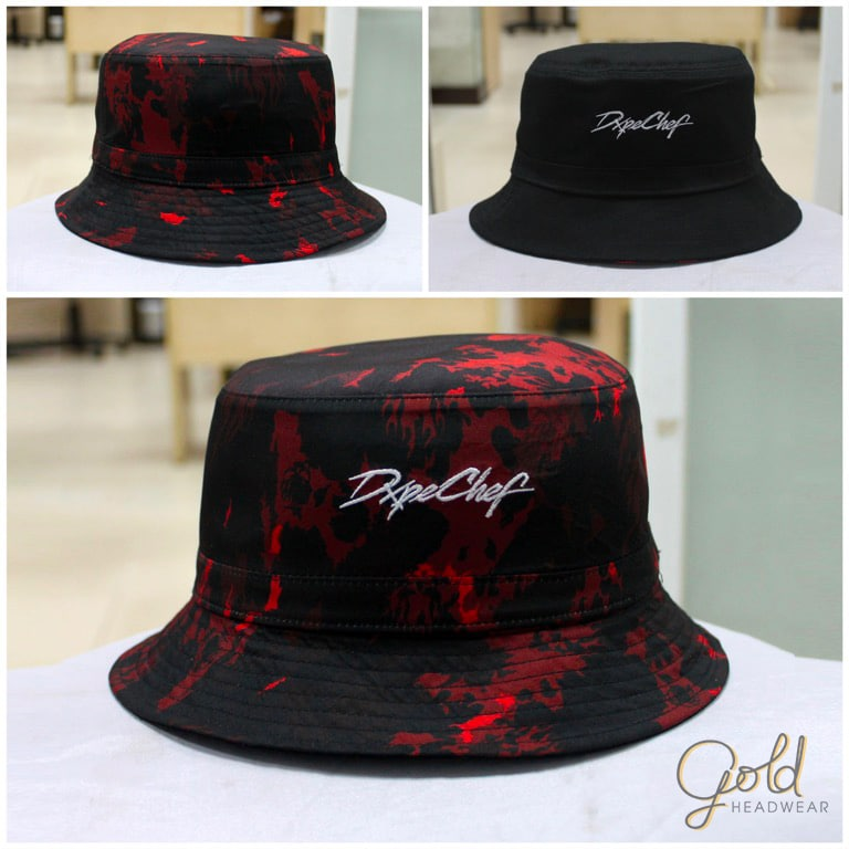 Dope Chef custom bucket hats