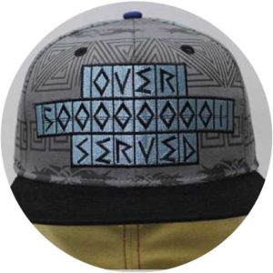 Grey-and-Black-Snapback-6-panel