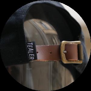 Leather-closure
