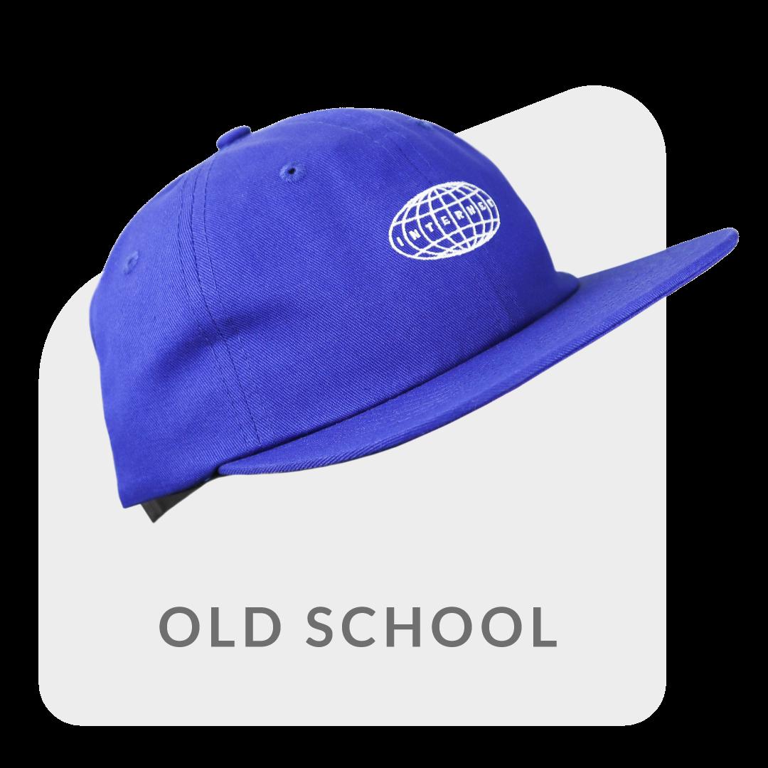 old school caps