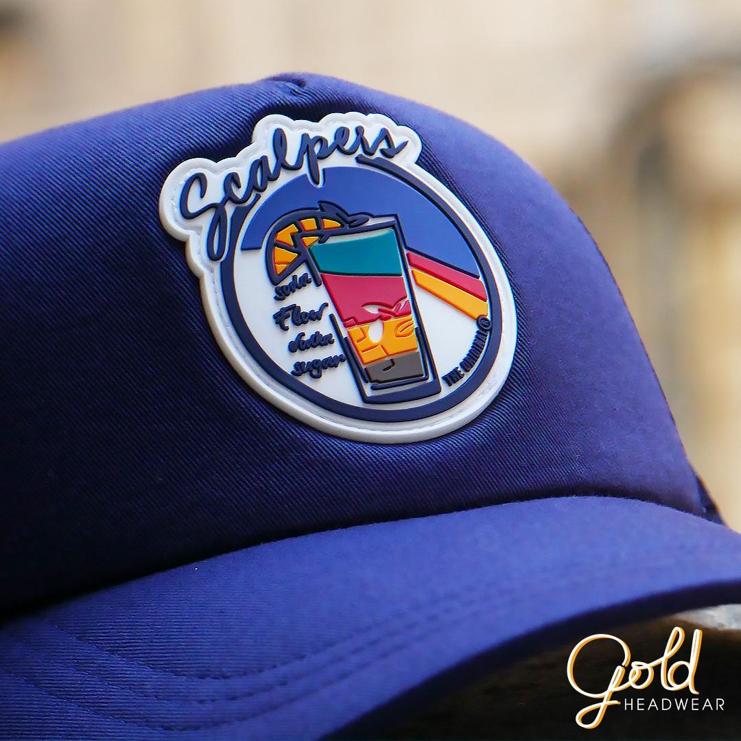 Custom Cap Manufacturing  Premium Quality   Gold Headwear