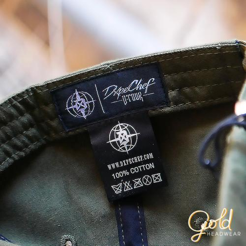 WOVEN LABEL-SATIN LABEL